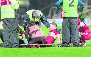 Derry forward Enda Lynn targets end of league return