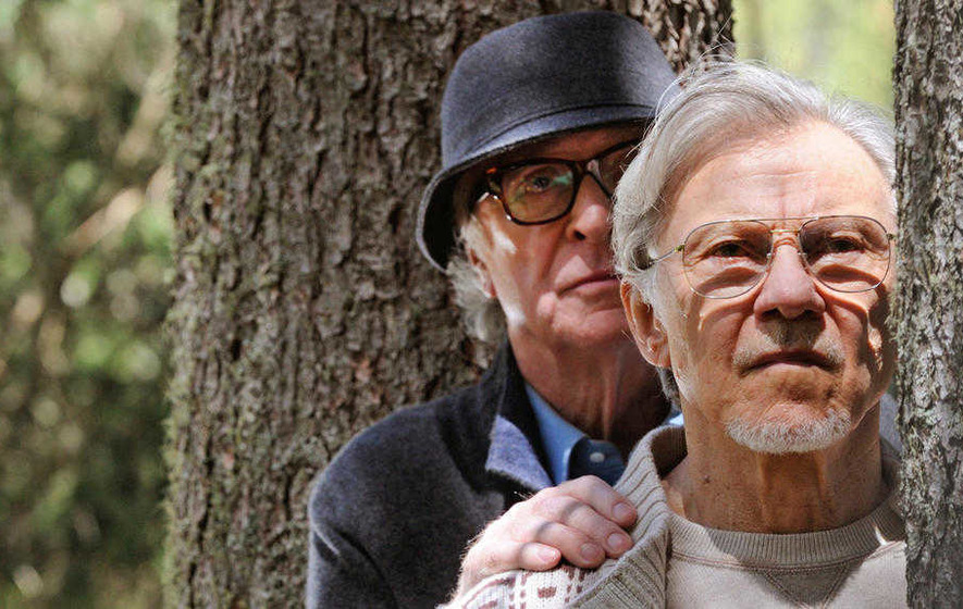 Grumpy old men: Michael Caine and Harvey Keitel star in Youth