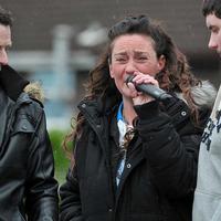 Meli family condemn anti-social behaviour at Twinbrook rally