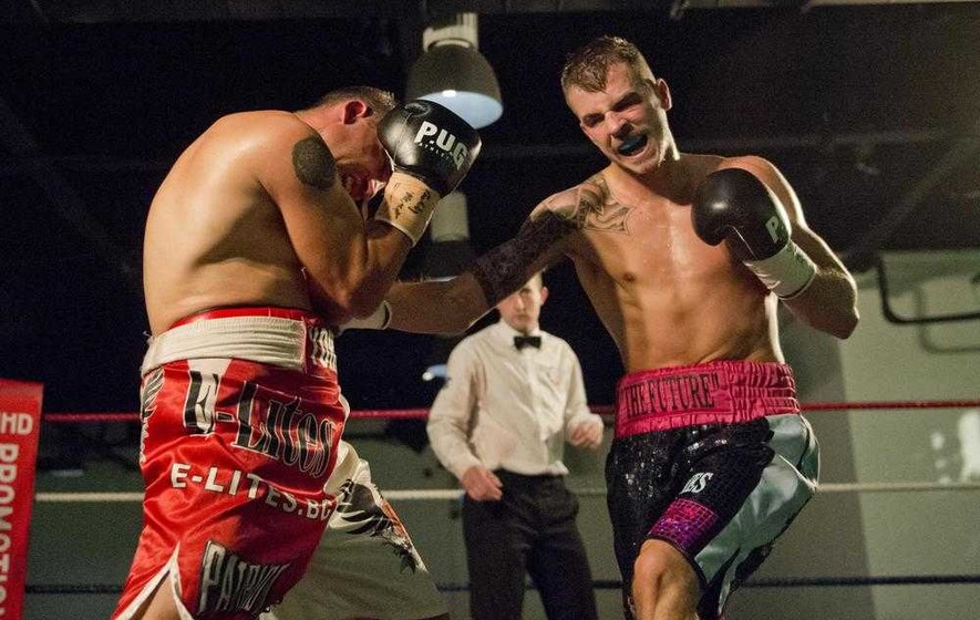 Paul Hyland ready to rumble at Europa Hotel fight night
