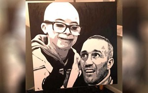 Jay Beatty's 'pocket money' painting to aid motor neurone disease