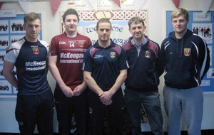 Cushendall Ruairi Og hurlers get support from St Mary's Primary School ahead of All-Ireland semi-final