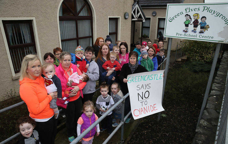 Tyrone residents voice fears over cyanide gold mine plan