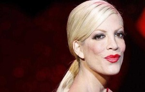 Tori Spelling is the celebrity face for a firm of psychics