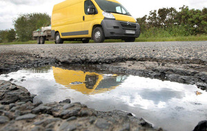 More than 1,500 successful claims taken against DRD over potholes