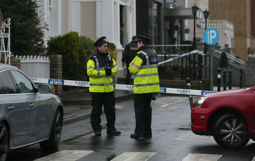 Dublin hotel shooting witness tells of terror as faced with gun