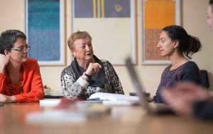 Monica McWilliams helps train women for UN talks in Syria
