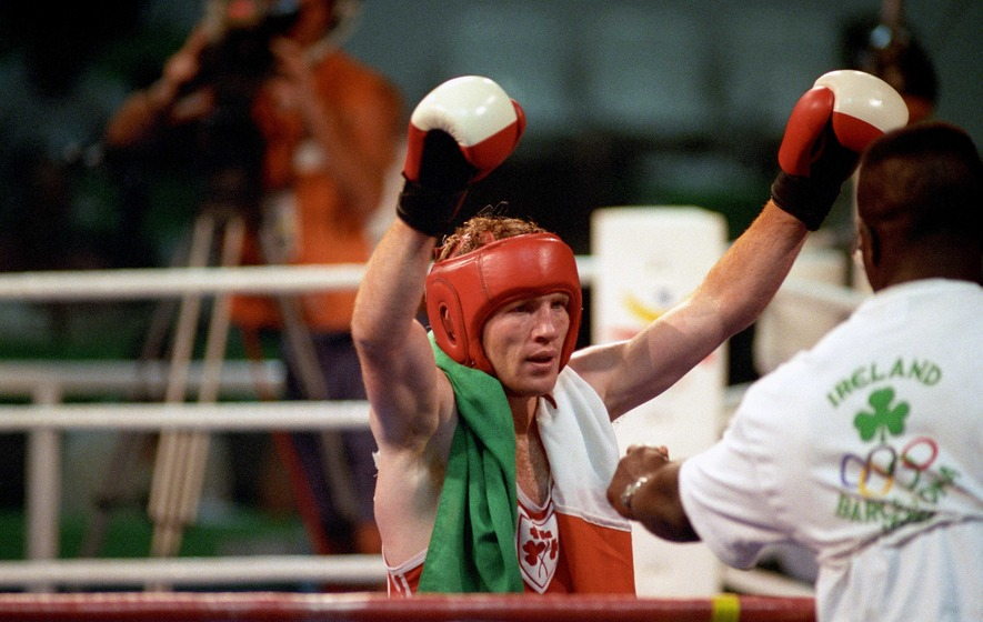 On This Day - Feb 8: Olympic golden boy Michael Carruth sets up WBO title shot