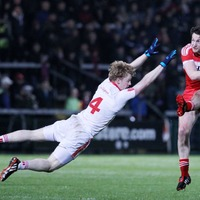 Hugh Pat McGeary making his mark in Tyrone defence