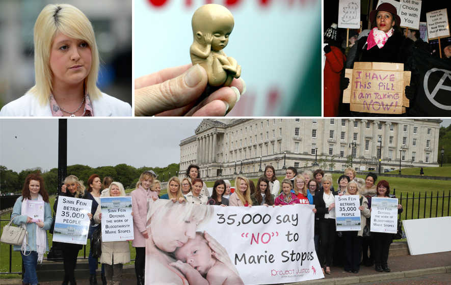 Stomont 'neglecting women's rights' over abortion law