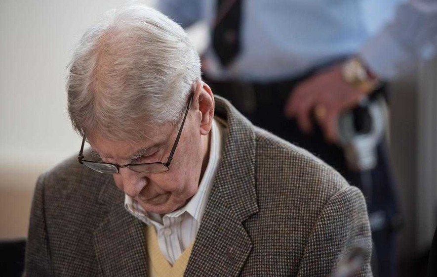 High emotion as ex-Auschwitz guard's trial hears from survivor