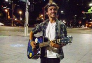 Video: Portrush singer Dave Mullan's Justin Bieber cover goes viral after busking in Sydney Central