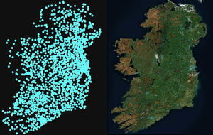 Fermanagh man's GAA pitches map becomes internet sensation