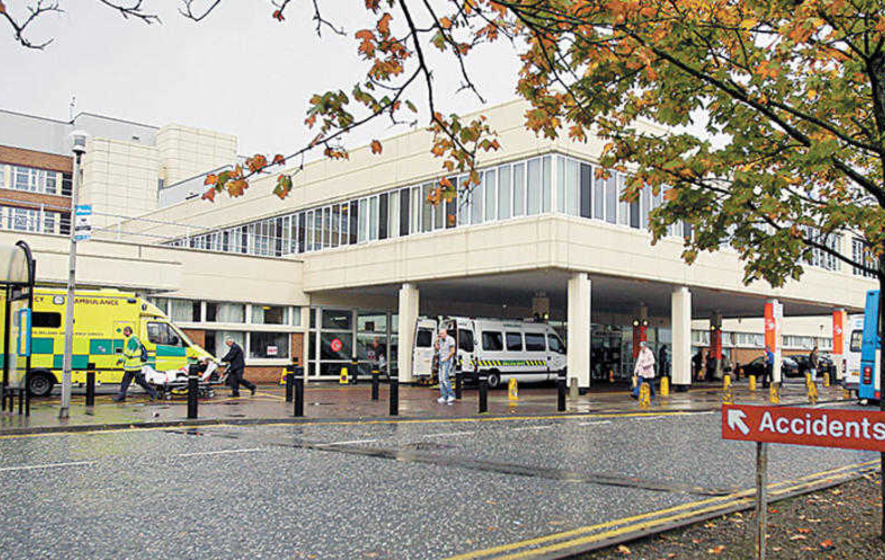 Craigavon Hospital apologises after patient is doused in sewage