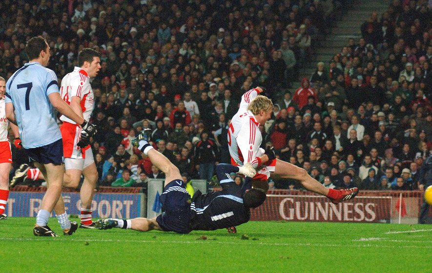 On This Day - Feb 13 2005: Tyrone's Owen Mulligan dashes Dublin dreams
