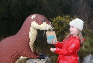 Hopes giant Lego animal display can 'build' interest in wildlife