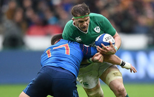 Ireland are down and out in Paris with London looming