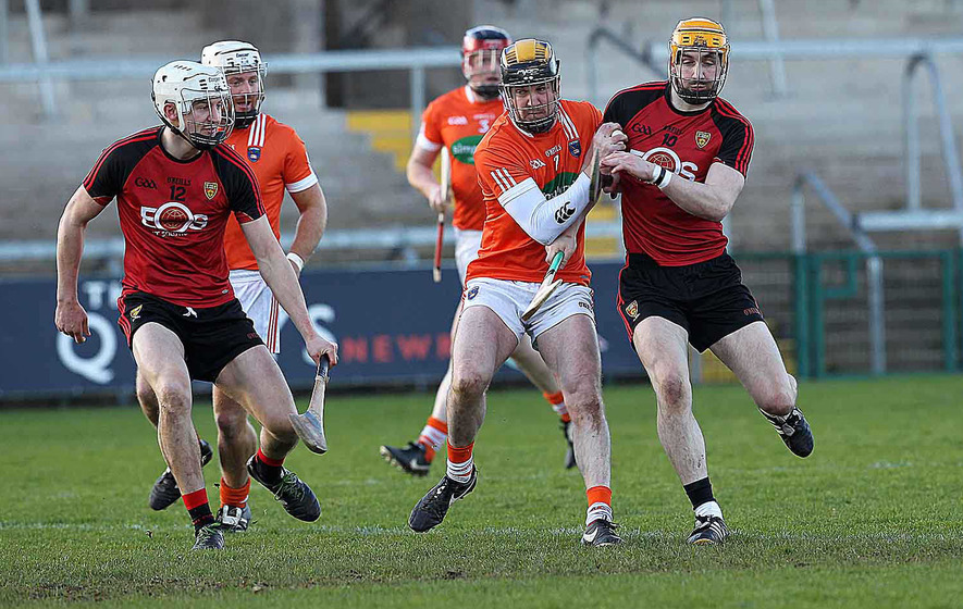 Down withstand late Armagh rally to take maximum points
