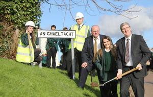 Building work begins on new Irish language college
