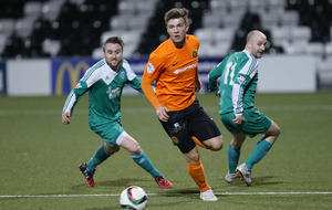 Curmlin Star's Irish Cup dream extinguished by Carrick Rangers