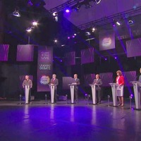 Leaders' largest TV debate takes place on Dail election
