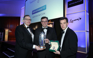 Invest NI chief executive Alastair Hamilton takes Lunn's Award of Excellence after record-breaking year