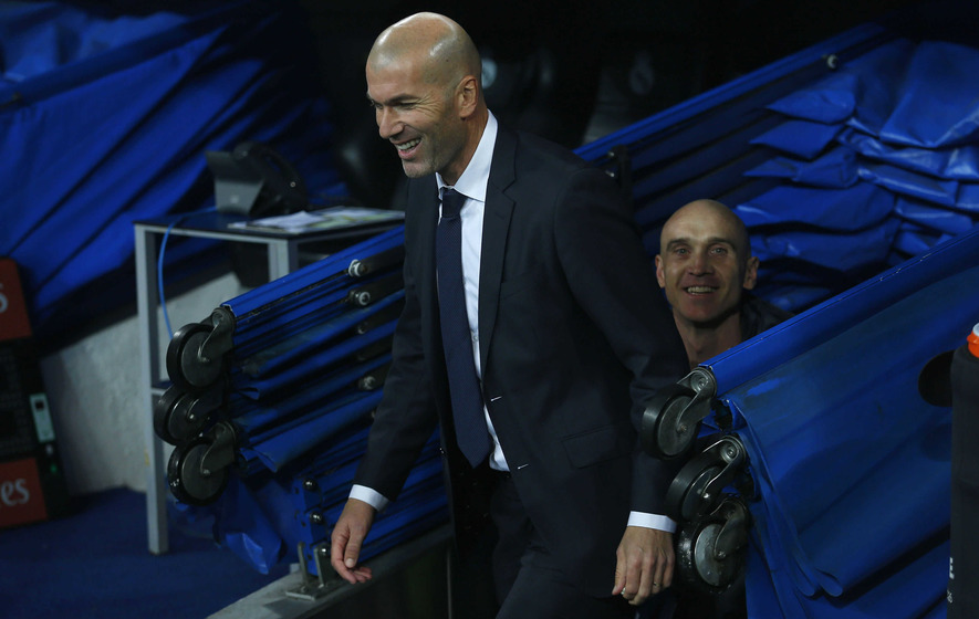 Zidane set to manage in Champions League for first time