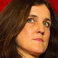 Theresa Villiers thinks people came up Lagan in a bubble