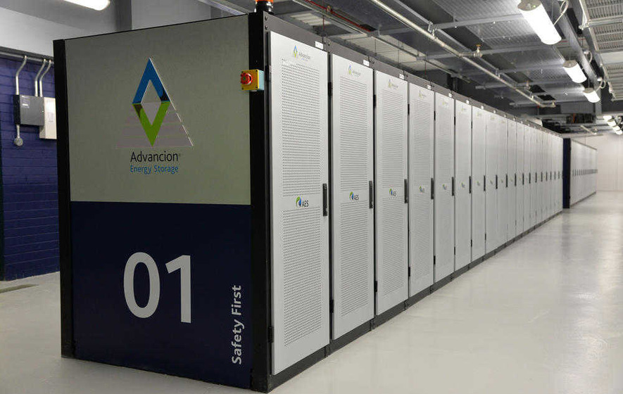 AES unveil energy storage battery at Kilroot Power Station