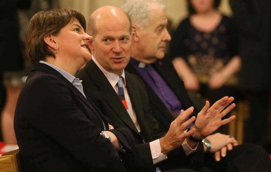 Arlene Foster denies attending event about Easter Rising in Dublin