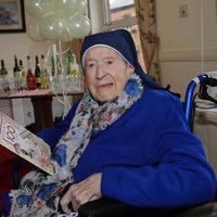 Belfast nun celebrates 100th birthday