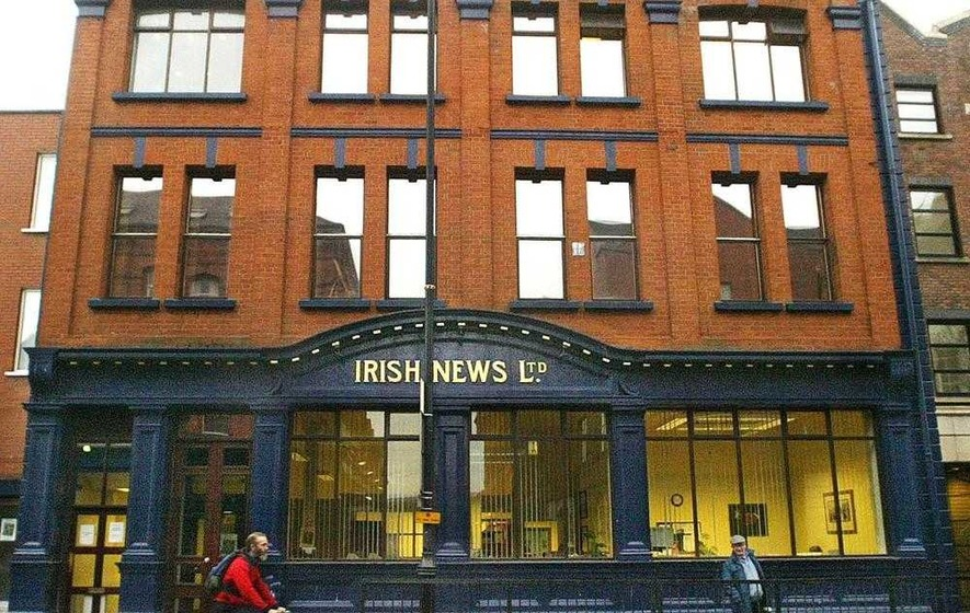 Irish News has 38.5 per cent share of paper sales