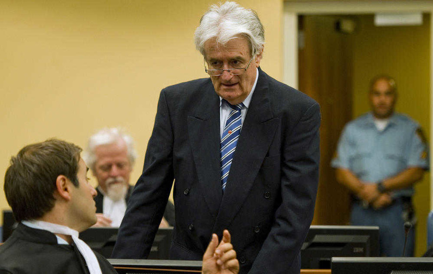 Radovan Karadzic sentenced to 40 years in genocide case