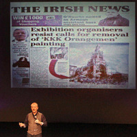 From headlines to punchlines: Jake O'Kane uses The Irish News for laughs