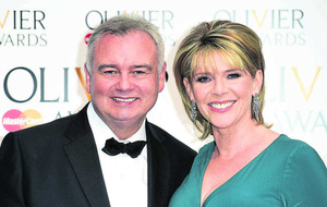 Eamonn Holmes supporting TV's agony aunt in cancer fight