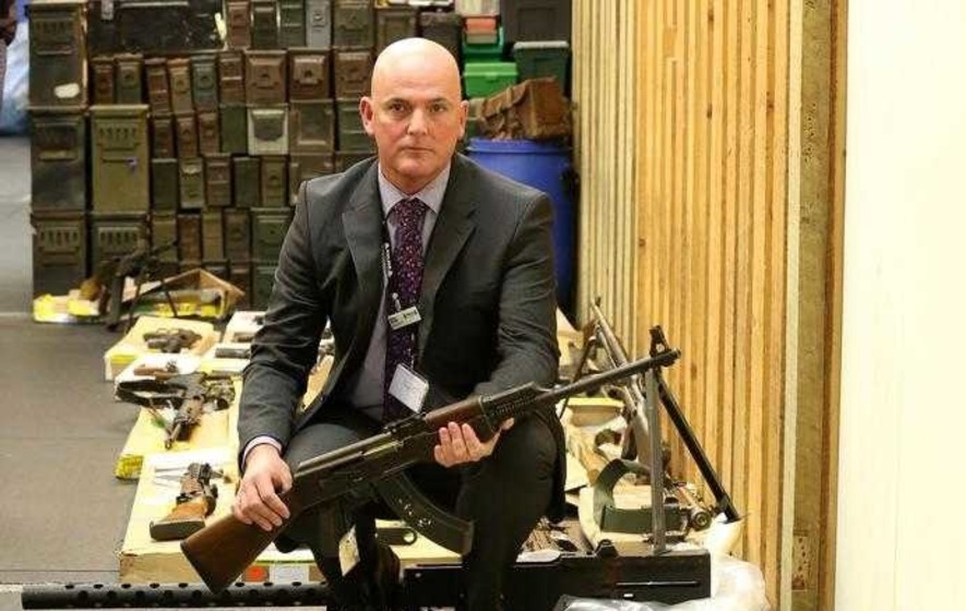 Firearms Dealer Jailed After 463 Illegal Weapons Found In