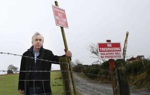 Sinn Féin minister shares Tyrone residents' cyanide concerns