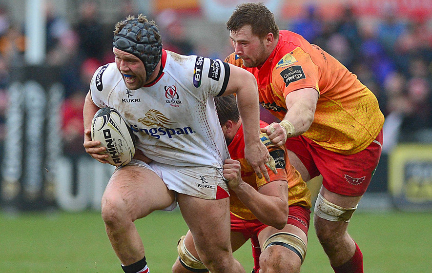 Scarlets complete double over Ulster to leapfrog them in table
