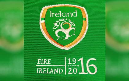 f4d8b99c0 Republic s football team could wear 1916 logo on shirts - The Irish News