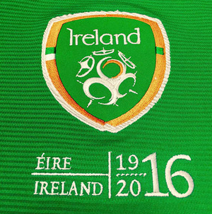 Republic's football team could wear 1916 logo on shirts