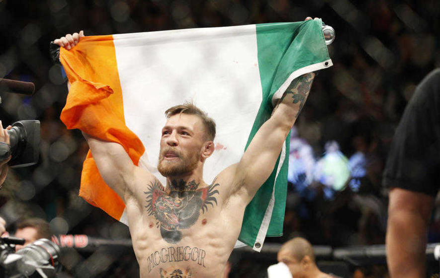 Conor McGregor jumps two UFC weight classes to take on Nate Diaz