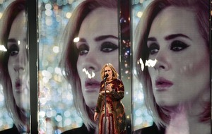 Brit awards: Adele makes awards history with four gongs