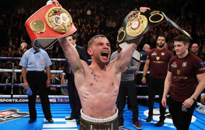 Frampton's fortunes now lie stateside after Quigg victory