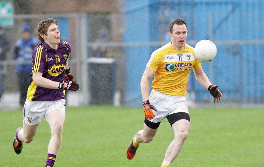 'Mark' may mean more short kick-outs says Antrim GAA's Michael McCann