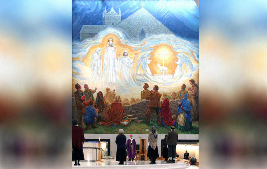 Knock Apparition mosaic `a beacon of light and hope'
