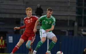 Northern Ireland's Chris Brunt to have knee scan tomorrow
