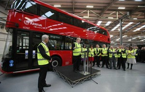 Boris bus order provides £62m boost for Wrightbus