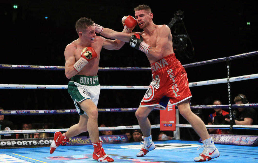Ryan Burnett will enjoy headline buzz in April bill