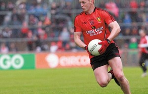 Benny Coulter unlikely to return for Down in relegation battle