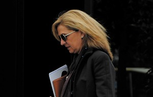 Spain's Princess Cristina gives evidence in fraud trial